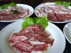 焼肉セット料理 1620円より