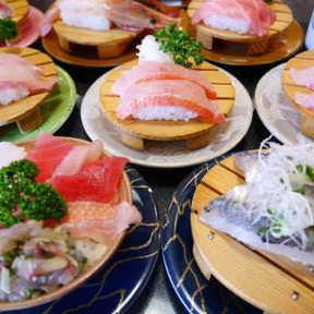 伊豆の回転寿司 花まる 銀彩 河津店
