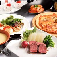 イタリアンと中華をいいとこどりしたお料理と飲み放題を満喫♪