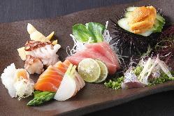 刺身盛り合わせ*北海道の食材の旨さをそのままお届け致します