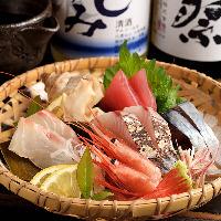 舞阪漁港直送のその日に特に旨いものを盛り合せでご提供致します