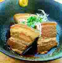 「ラフテー」琉球料理の定番!豚の角煮