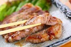 知多豚のトンステーキ \950
