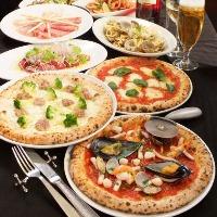 技,窯,味全て本場イタリアのピッツェリアをここ名古屋に再現!!