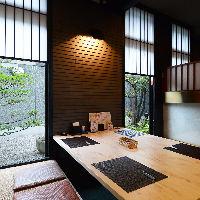 日本庭園を望みながら贅沢個室で四季を感じて◎