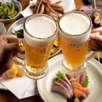 コースによって異なるお得な飲み放題プランは3種類ございます。