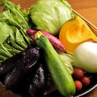 瑞々しさと食感が抜群の新鮮野菜!全て国産を使用しています。