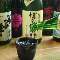 九州料理と一緒に楽しむ、焼酎や日本酒も九州産がオススメです!