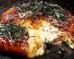世界にひとつ「まんまるえんくう焼」は お餅とチーズがとろ~り