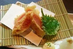 博多明太子を天ぷらにしちゃいました