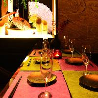 ◆宴会席◆完全個室は2名~最大40名様に対応!開始宴会にも◎