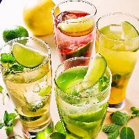 【飲み放題】お得な2時間飲み放題!カクテルや果実酒充実