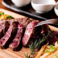 ◇肉酒場◇絶品肉料理とワインで乾杯!飲放付コース3500円~