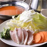 ◆イチオシ!奥三河鶏のお鍋♪選べる8種のスープが嬉しい◎