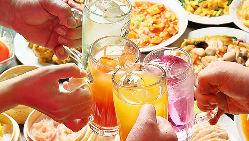 豊富な飲み放題メニュー♪ビールや紹興酒など40品以上を取り揃え