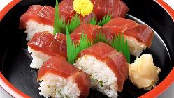 【海の幸】 旬の味覚を堪能!厳選仕入れの鮮魚を丁寧な仕込みで