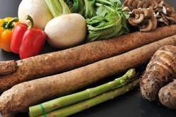 季節に合わせた旬の食材を使用