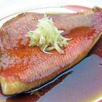 煮魚の王様金目鯛の姿煮【予約制】