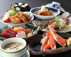 豪華食材を使用した宴会コース