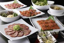 ご宴会にも最適なコース料理もご用意。4,000円~