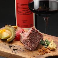 【ワイン】 ナチュラルワインを楽しめます。お好みの一杯を。