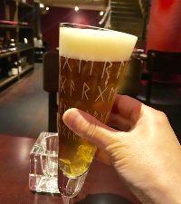 見た目もカワイイ専用グラスで♪レアな国産ビール!