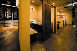◆落ち着いた店内でごゆっくりお食事をどうぞ。