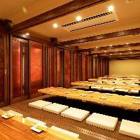 同窓会、会社宴会、送別会など20名様でも30名様でも個室です