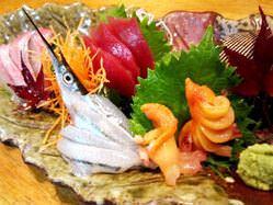 貝類も刺身、焼き、酒蒸しと豊富に取り揃え!