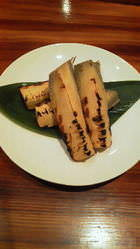タケノコ焼き 季節の旬の素材こだわった一品