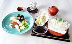 季節のランチメニュー「寿司御膳」 1,380円(税込)