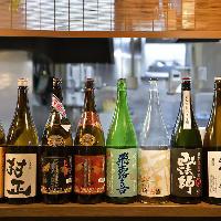 自慢の鮮魚料理には日本酒や焼酎を合わせてご満喫ください◎