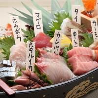 漁港直送の鮮魚を使用しております。