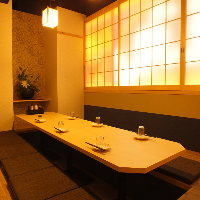 ◆完全個室完備◆接待や宴会、飲み会などにもオススメ♪