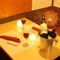 ◆全席完全個室完備◆女子会やデート、飲み会などにもオススメ♪