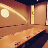 ◆全席完全個室完備◆接待や宴会、飲み会などにもオススメ♪
