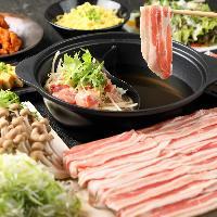 各種宴会に最適なコース料理は飲み放題付3000円~!予約特典あり