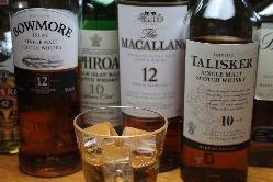 スコッチなどウイスキーと燻製の相性は抜群です