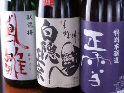 静岡地酒もソフトドリンクも充実しております!
