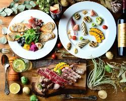 自慢の食材を使ったジャンルレスの創作洋食料理