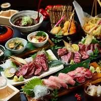 宴会コースは3,980円~とリーズナブルな価格でご用意。