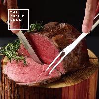 お肉の専門業者と提携しているのでお肉料理には自信があります☆