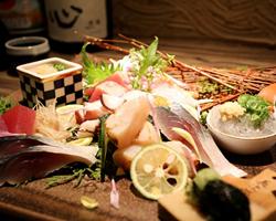 【地魚料理を和酒とともに】