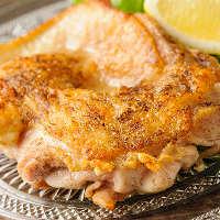 とってもジューシーな国産地鶏『桜姫』を使った鶏料理が満載!