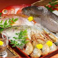 旬の食材を日本全国から厳選!盛り合せはお酒の肴に最適♪