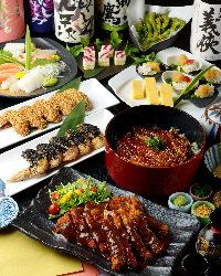 ひつまぶしなど名古屋飯がずらり勢揃い!お得な宴会コースも有
