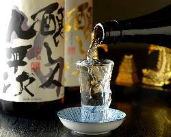 愛知の厳選された日本酒・焼酎・梅酒を取り揃えております。