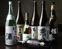 【種類豊富】 飲み放題のドリンクも単品での地酒も豊富!