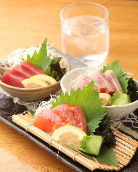 刺身盛り合わせ◆独自ルートで仕入れた鮮魚の美味しさをどうぞ♪