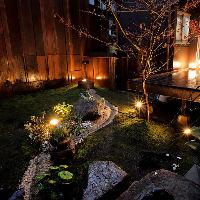 季節、昼夜で表情が変化する庭園は見応え抜群!新緑や紅葉も◎